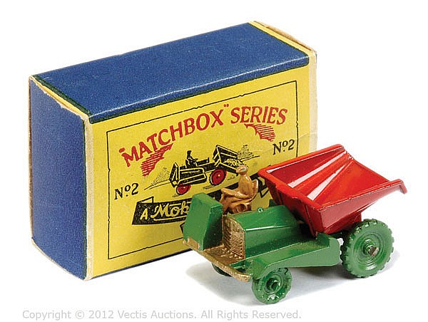 Matchbox Regular Wheels No.2A Site Dumper Truck