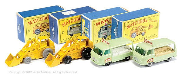 GRP inc Matchbox Regular Wheels No.21C Commer