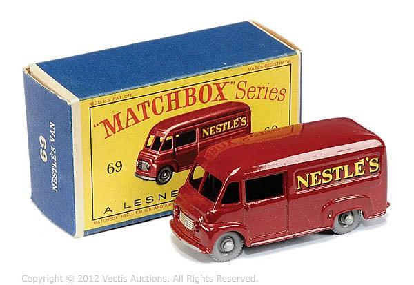 Matchbox Regular Wheels No.69A Commer