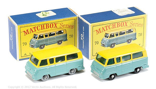 PAIR inc Matchbox Regular Wheels No.70A Thames