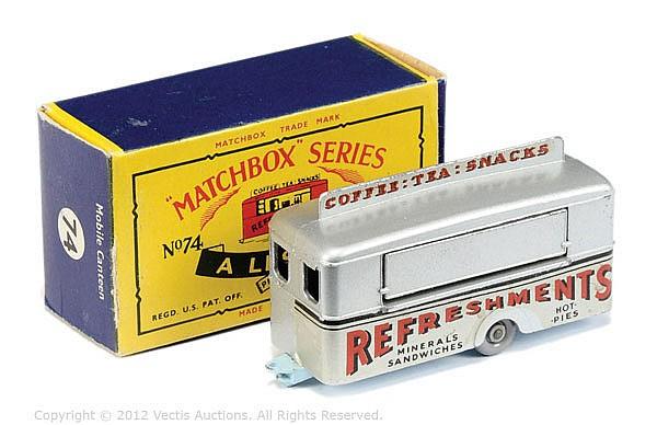 Matchbox Regular Wheels No.74A Mobile