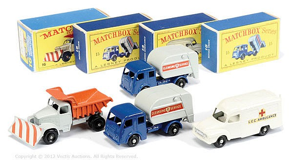 GRP inc Matchbox Regular Wheels No.14C Bedford