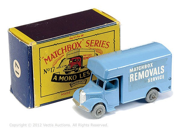 Matchbox Regular Wheels No.17A Bedford Removals