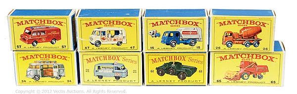 GRP inc Matchbox Regular Wheels type D & E boxes
