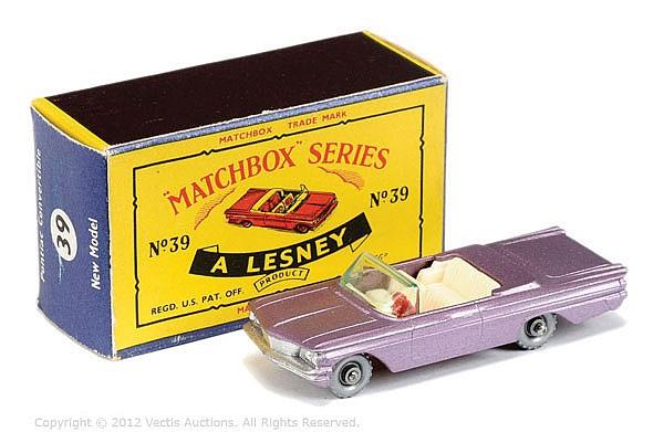 Matchbox Regular Wheels No.39B Pontiac