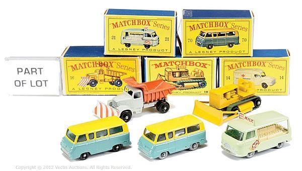 GRP inc Matchbox Regular Wheels No.14 Bedford
