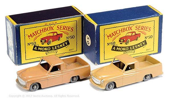PAIR inc Matchbox Regular Wheels No.50A Commer