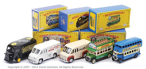Y5 Leyland Bus Code 2 Matchbox Models Of Yesteryear MICA