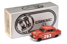 Classic 43 1/43rd scale Model of a Saab 96