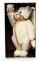 Steiff white Muzzle Bear replica, 1908, 1990