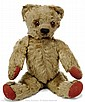 Chad Valley golden mohair Teddy Bear, British