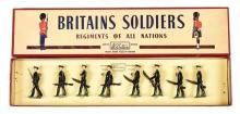 Britains Set 2091 - Rifle Brigade - No'1 Dress