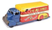 Marx Toys (UK) ?Hi Way Express Pressed Steel