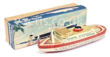 1960?s Tinplate Friction Drive ?Passenger Ship?