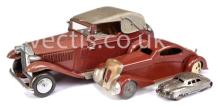GRP inc Marx Toys or similar a large Pressed
