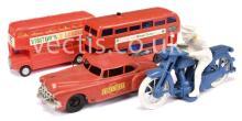GRP inc Marx Toys Friction Drive Fire Chiefs Car