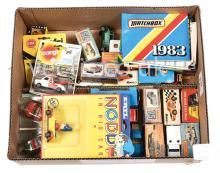 boxed Matchbox 1/75 and Corgi Juniors Models
