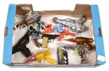 GRP inc Space Guns and other Toy Guns. battery