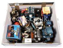 larger scale and other plastic and tinplate