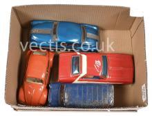 GRP inc mainly Japanese tinplate Cars and Van