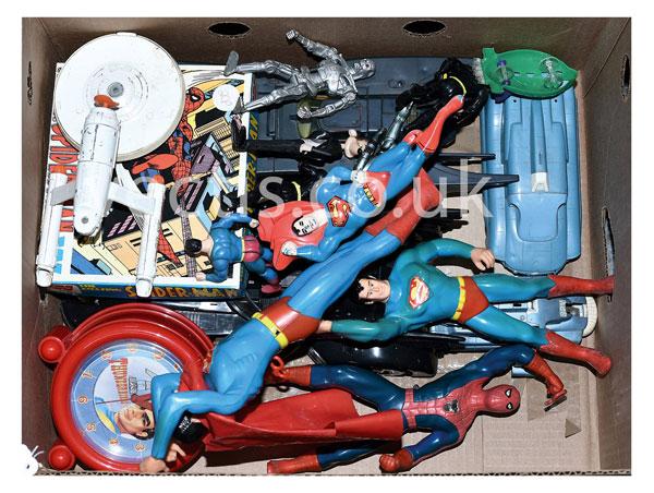 GRP inc Batman, Superman and other Sci-Fi