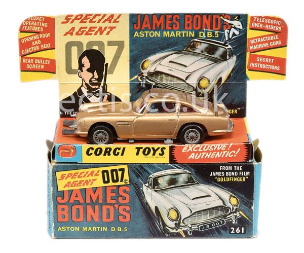 Corgi No.261 ?James Bond? Aston Martin DB5