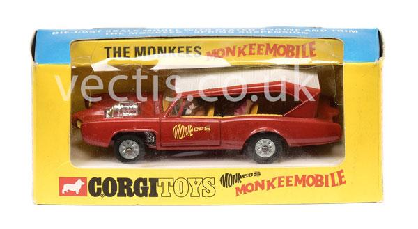 Corgi No.277 ?The Monkees? - Monkeemobile red