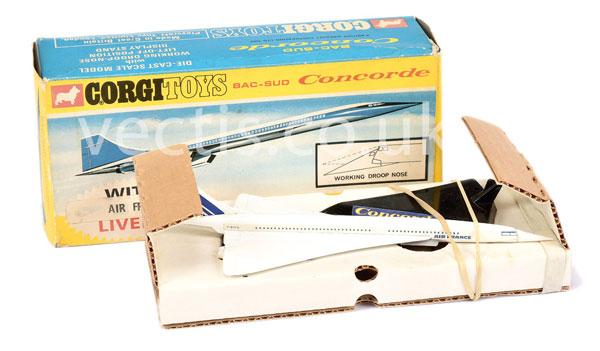 Corgi Concorde ?Air France? white, blue, red