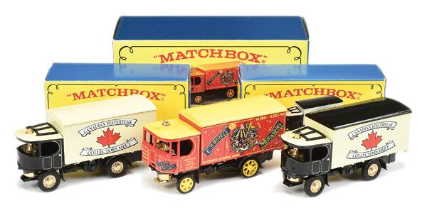 Matchbox Model of Yesteryear 2 x YGB-22 Atkinson Steam Wagon