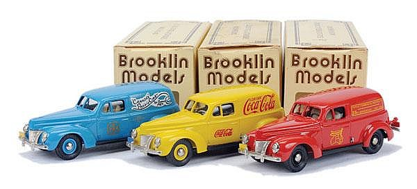 Brooklin Models Ford Delivery Van Group