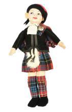 Norah Wellings Scottish Boy #1204 Doll, British