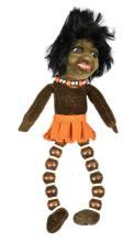 Norah Wellings South Sea Islander Novelty Doll