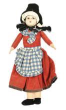 Norah Wellings Welsh Girl Doll, British, 1950s