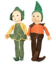 Norah Wellings Little Pixie People Girl and Boy