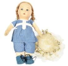 Norah Wellings Jolly Toddler Doll, British