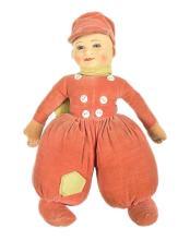 Chad Valley Dutch Boy Doll, British, 1920s/30s