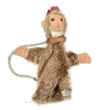 Alpha Farnell Monkey Glove Puppet, British