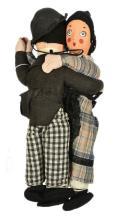 Dean's Rag Book Charlie Chaplin and Auntie cloth