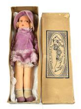 Dean's Rag Book A1 Toys Modern Doll, British