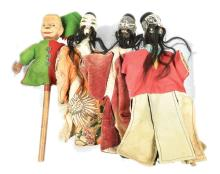 GRP inc Collection of four Puppets: three