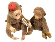 PAIR inc Pair of Monkeys, Merrythought Gran'pop