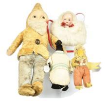 GRP inc  cloth toys: Large Gnome artificial silk