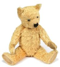 Chiltern Hugmee golden mohair Teddy Bear