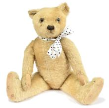 Farnell golden mohair Teddy Bear, British
