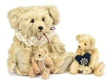 GRP inc Artist Teddy Bears x three: L Baker & Co