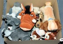 GRP inc The Disney Store plush toys: Chip 'N