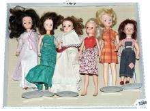GRP inc Pedigree Sindy and Patch- six dolls