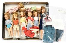 QTY inc Ideal vintage Teenage Fashion Dolls