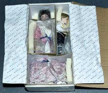 Danbury Mint Milk and Cookies bisque doll