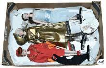 QTY inc Ashton Drake Gene dolls x three, by Mel